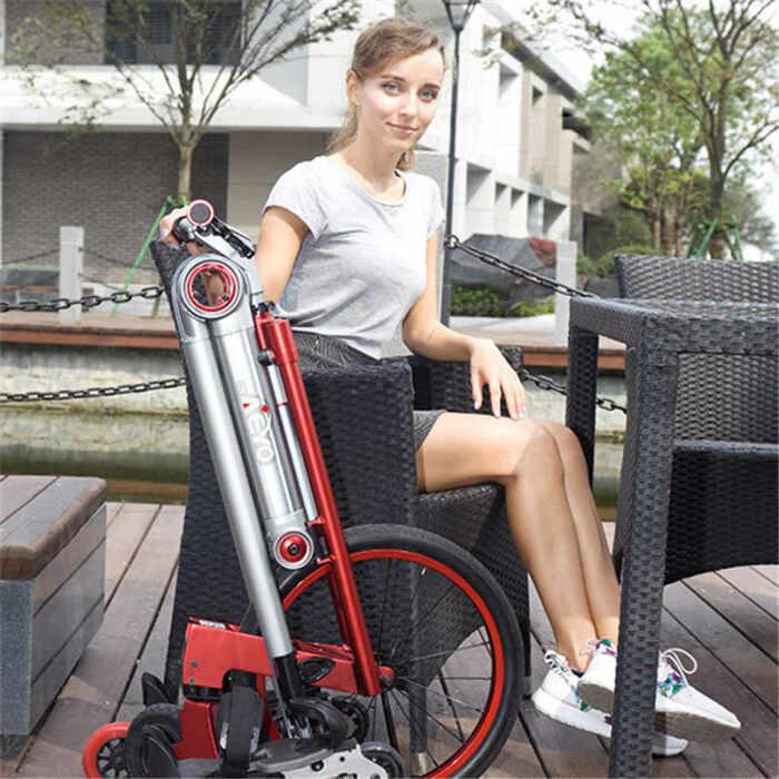 AeYO Scooter компактно складывается. /Фото: ae01.alicdn.com