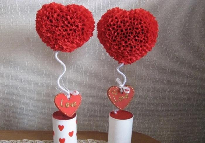 Романтичный декор для праздника или подарка. /Фото: avatars.mds.yandex.net