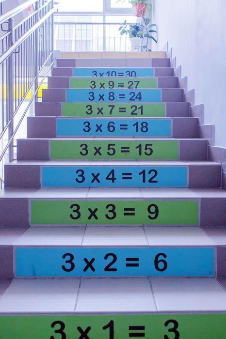 Знаний много не бывает, а так они точно будут усваиваться лучше. /Фото: i.pinimg.com