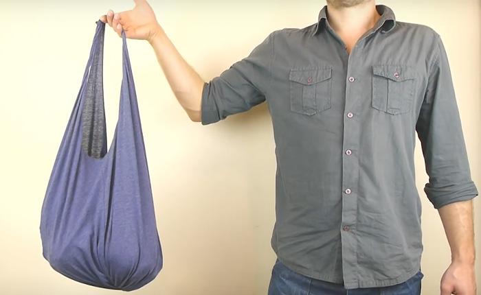 Простая в исполнении, но очень практичная и удобная сумка. /Фото: user32265.clients-cdnnow.ru