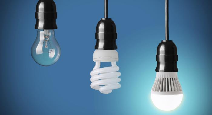 Светодиодные лампы — отличная альтернатива обычным лампочкам накаливания. /Фото: elgezit.kg