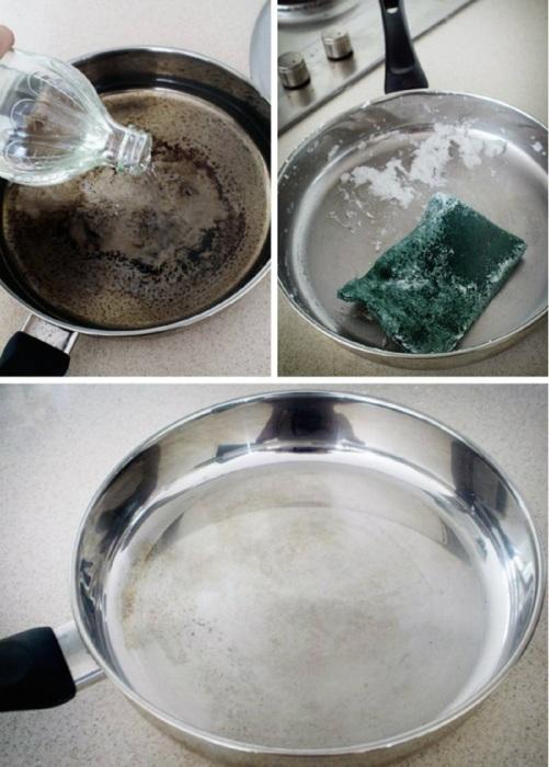 Посуда из нержавеющей стали — частый гость на большинстве кухонь. /Фото: retete-usoare.info
