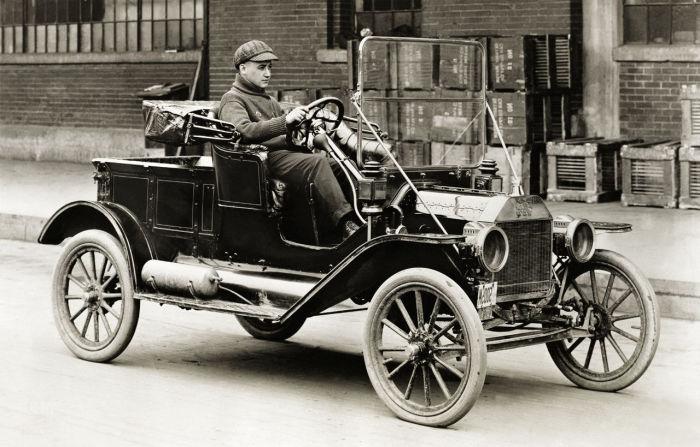 Ford Model T, 1908 г. /Фото: unusual-cars.com