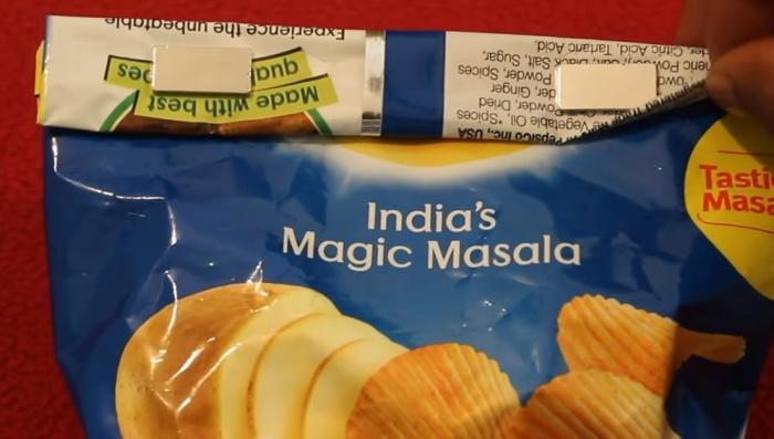 Магниты закроют упаковку, чтобы содержимое не рассыпалось.