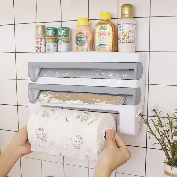 С таким органайзером бумажные полотенца, пищевая пленка и фольга всегда будут под рукой. /Фото: ae01.alicdn.com