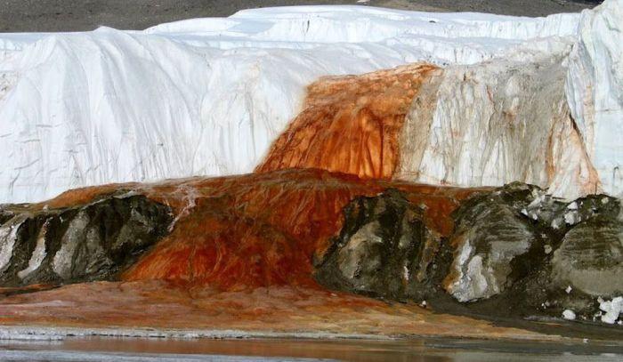 Кровавый водопад. /Фото: thumbs-prod.si-cdn.com