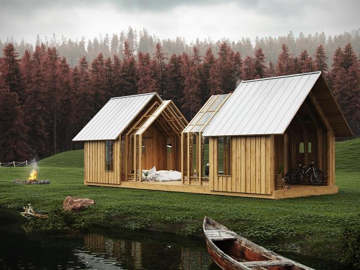 Дом, который поражает и вдохновляет одновременно. /Фото: vizpark.com