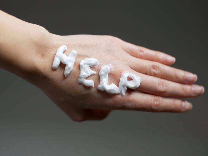 Если крем не помог, пора идти к врачу. /Фото: wilsonssyndrome.com