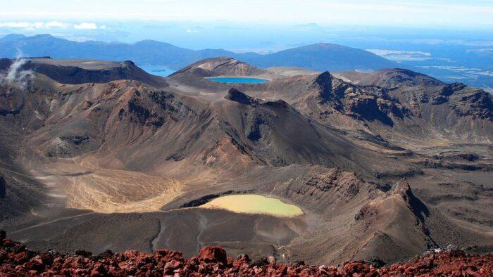 Национальный парк Тонгариро – локация для Мордора. /Фото: kayak-newzealand.com