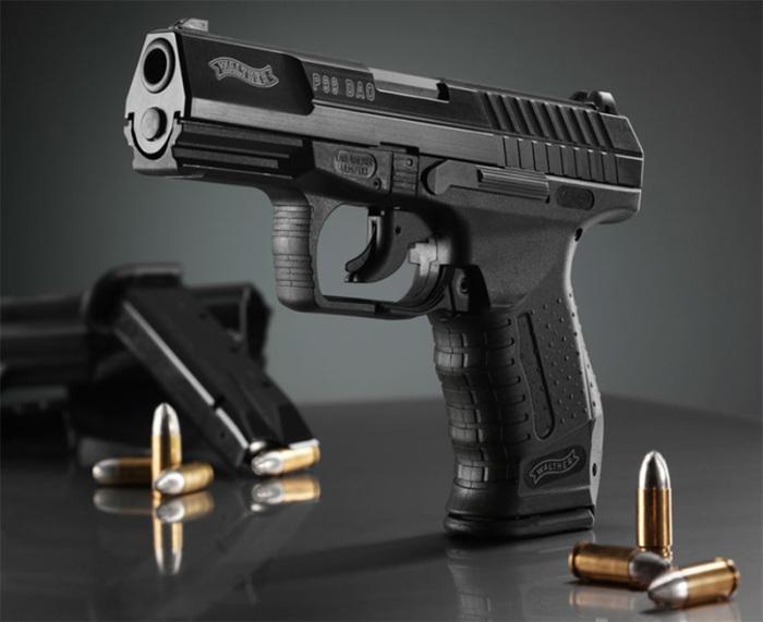 Walther P99 – популярный немецкий пистолет. /Фото: survivalmag.pl
