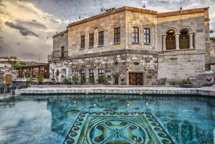 Здание отеля очень красиво и «дышит» стариной. /Фото: cf.bstatic.com