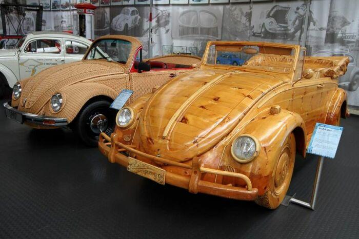 Экспонаты музея поддерживаются в рабочем состоянии и даже принимают участие в ралли ретро-автомобилей. /Фото: globetrotter-fotos.de