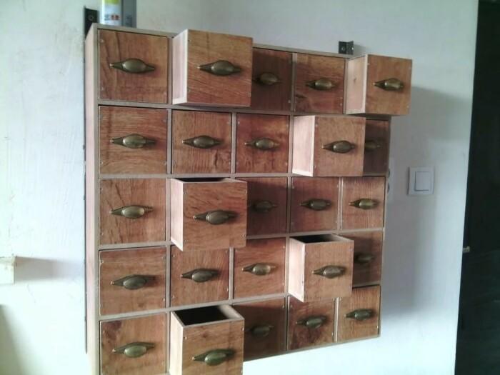 Полезное решение для гаража или рабочей комнаты. /Фото: img.aviarydecor.com
