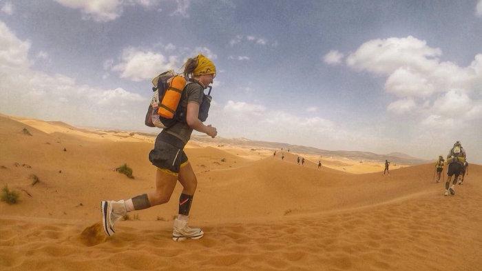Песчаный марафон – серьезное испытание выносливости и силы воли. /Фото: runultra.co.uk