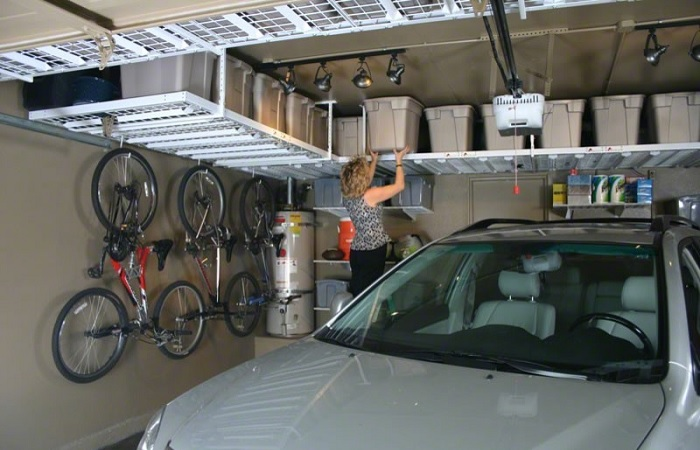 Как обустроить гараж и организовать эргономичное хранение, чтобы все было под рукой