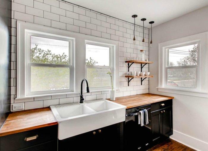 Керамическая раковина для мытья посуды. /Фото: s3-production.bobvila.com