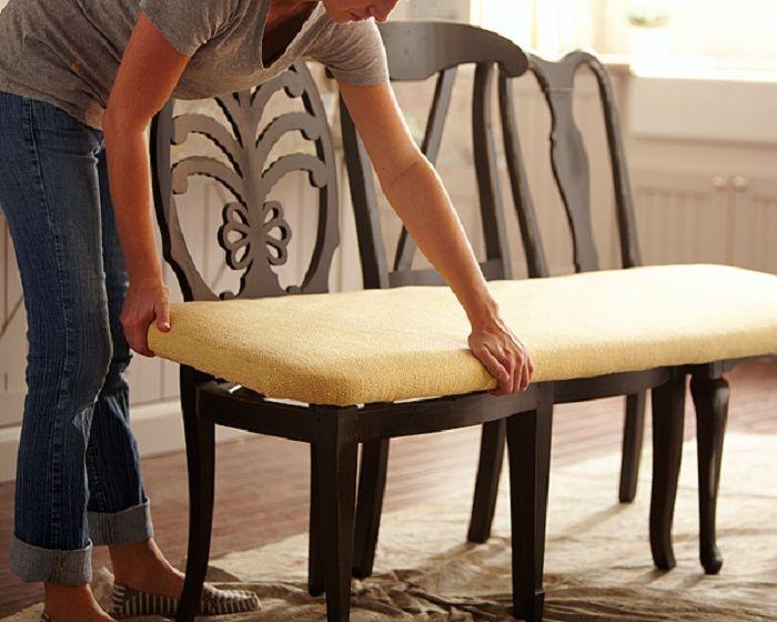 Главную роль сыграет удобное сидение — оно может быть цельным или в виде отдельных подушек. /Фото: i.pinimg.com
