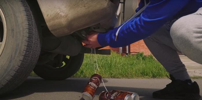 Обманный метод для угона автомобиля. /Фото: youtube.com