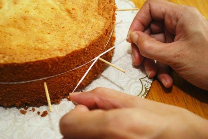 Идеальные слои с помощью зубной нити. /Фото: 1.bp.blogspot.com