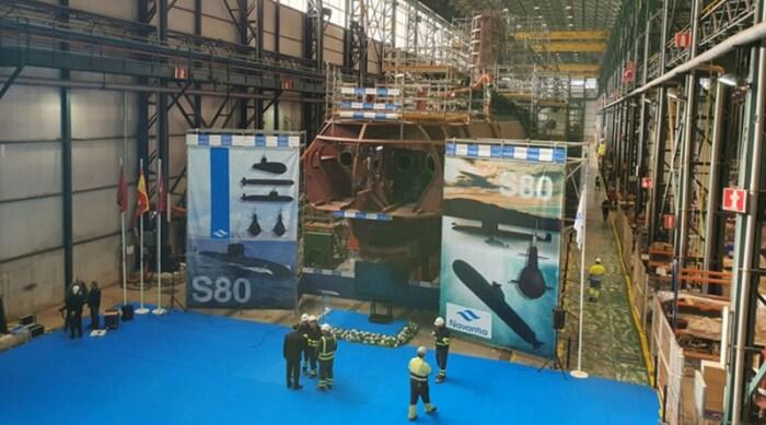 Из-за конструкторских просчетов итоговая стоимость субмарины S-80 значительно возросла. /Фото: i0.wp.com