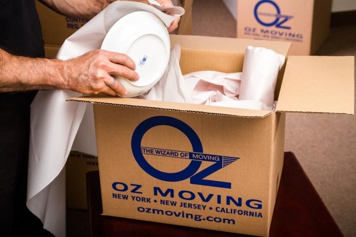 Хрупкие вещи требуют двойного внимания. /Фото: ozmoving.com
