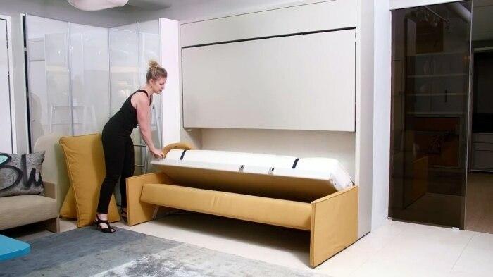 Полезное приобретение для квартиры с ограниченным свободным пространством. /Фото: s2.dmcdn.net