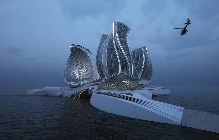 Концепт «8 континент» – чудо инноваций и футуристического дизайна