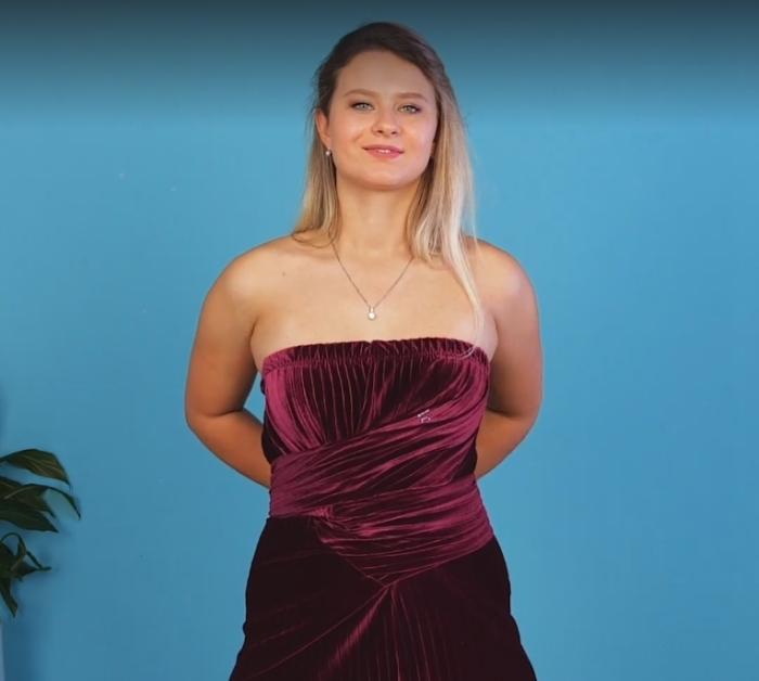 Необычное платье, которое можно сделать за десять минут.