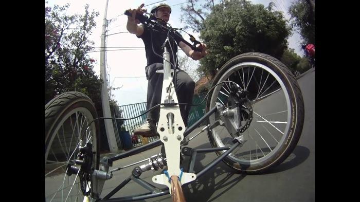 Велосипед, с которым легко справляться. /Фото: i.ytimg.com