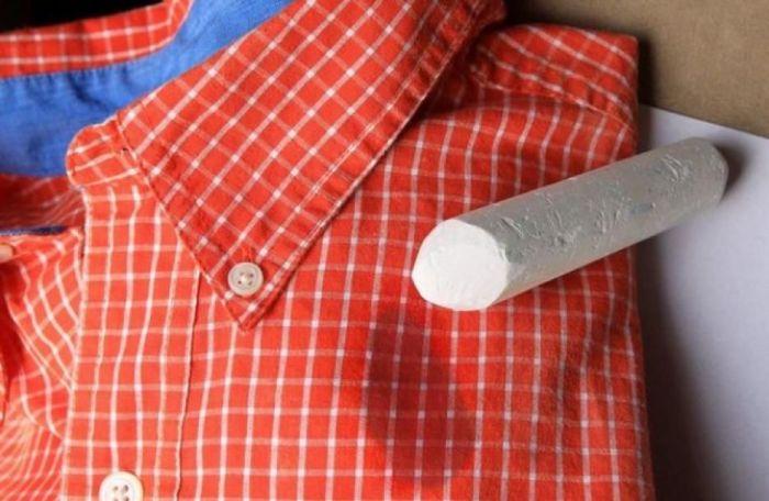 Без мела в ванной комнате не обойтись. /Фото: i.pinimg.com
