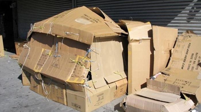 Старые картонные коробки – рассадник плесени. /Фото: wdb.space