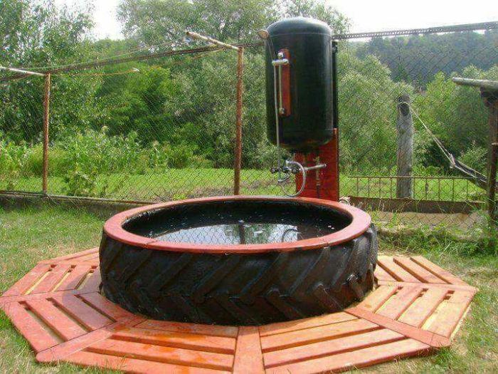 Оригинальное изобретение, которое скрасит теплые вечера на даче. /Фото: i.pinimg.com