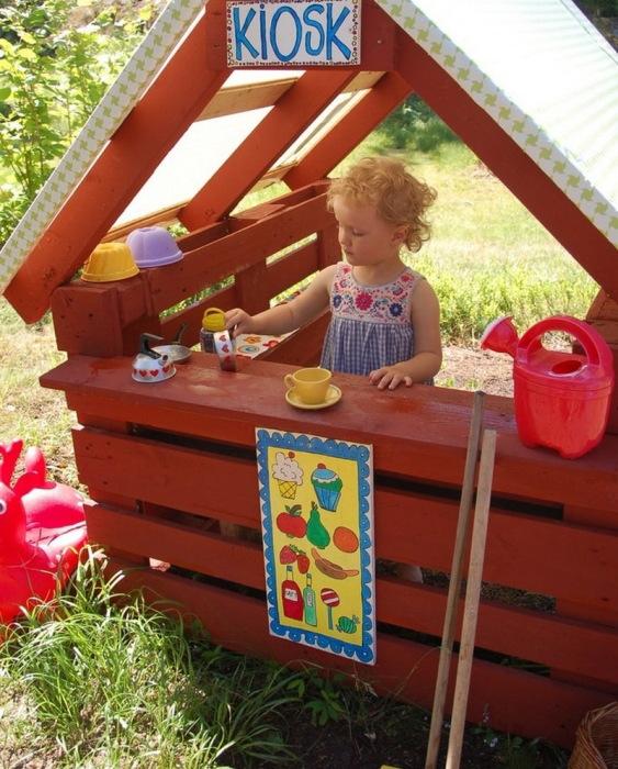 Дети довольны, а взрослые отдыхают. /Фото: decorexpro.com