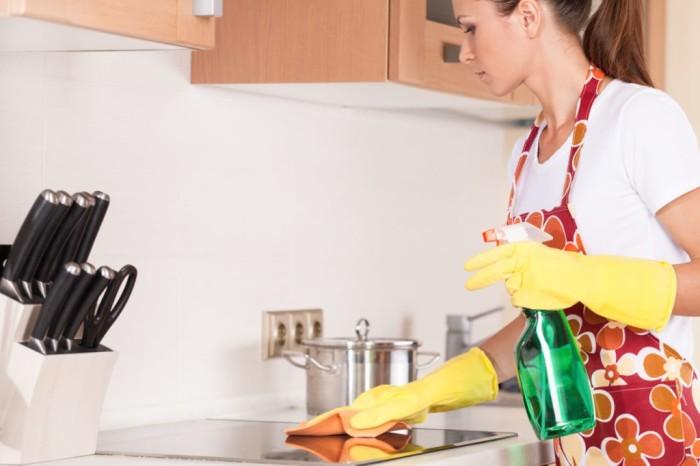 Чистая плита – чистая кухня. /Фото: itd3.mycdn.me