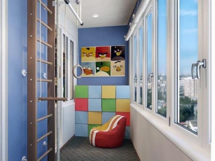 Креативная, яркая и живая обстановка поможет ребенку весело и с пользой провести время. /Фото: noviydom.com.ua