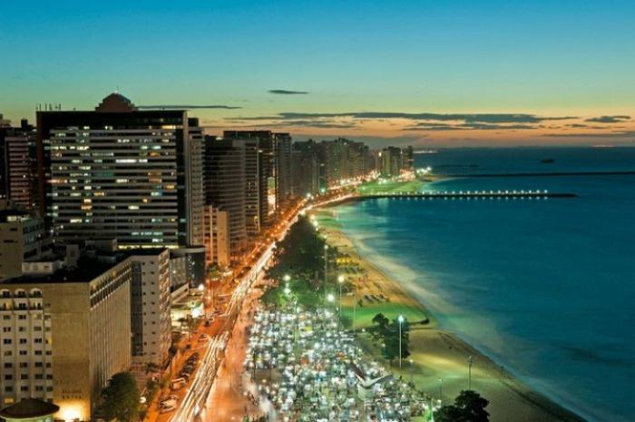 Современный вид города Форталеза. /Фото: etour.ua