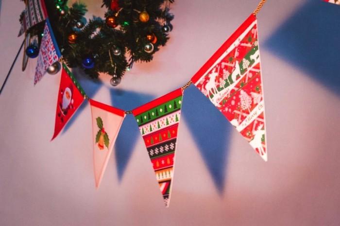 Гирлянда для следующего новогоднего праздника, яркая и красивая. /Фото: podelki.org