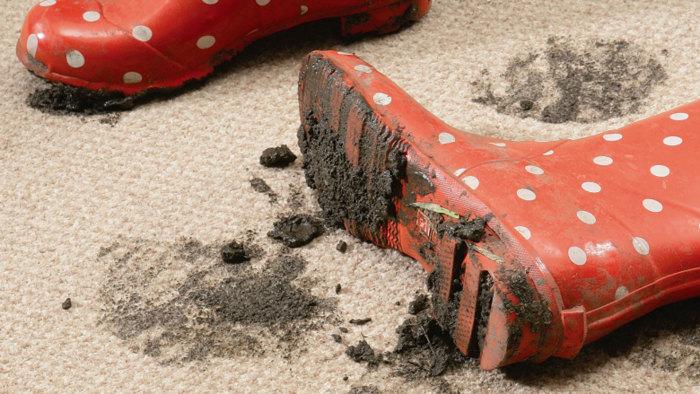 Грязная обувь может доставить много неприятностей. /Фото: beckcarpetcleaning.co.uk