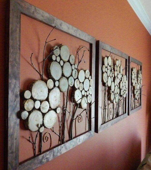 Картины, которые смотрятся стильно, но выполняются просто. /Фото: i.pinimg.com
