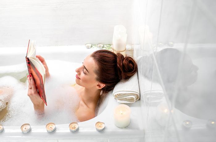 Рисовая ванна полезна для красоты кожи. /Фото: thesaltbox.com.au