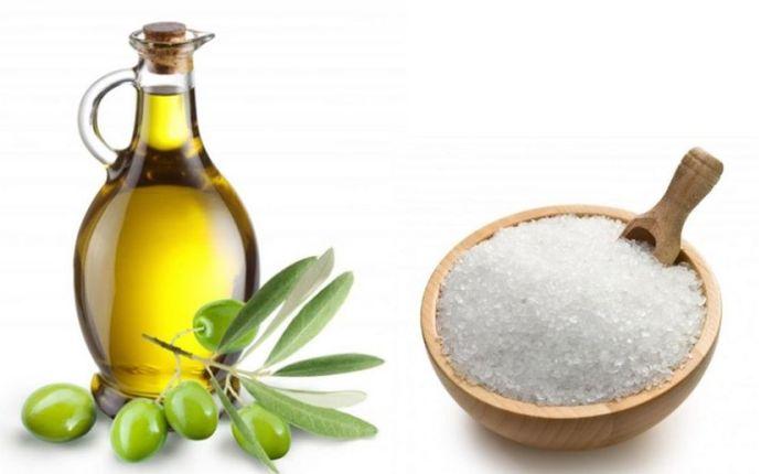 На основе соли можно приготовить натуральный скраб для тела. /Фото: cdn.clickpentrufemei.ro