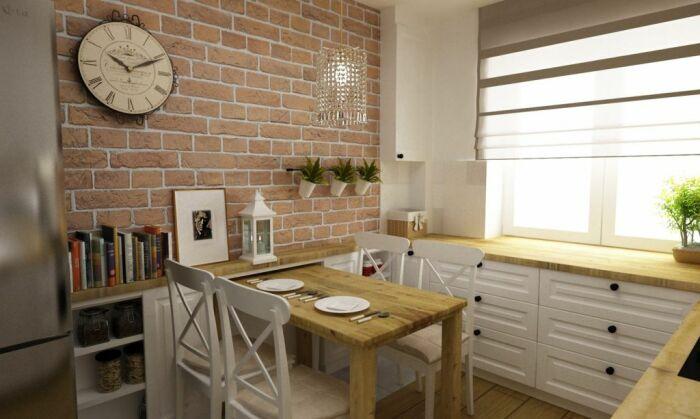 Подоконник-столешница делает дизайн завершенным. /Фото: lovingit.pl