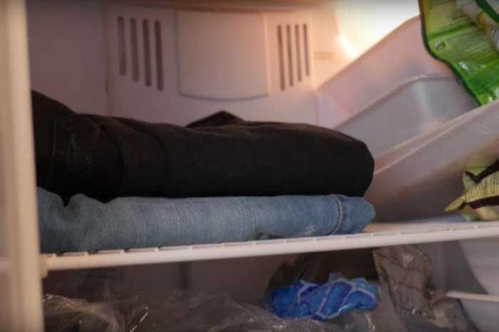 Джинсы прекрасно чувствуют себя в холодильнике. /Фото: tips-and-tricks.co