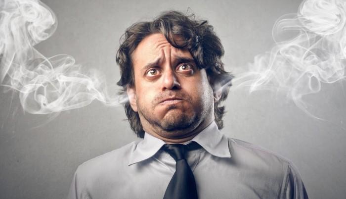 Ярость и сильные негативные эмоции наносят вред здоровью и психике. /Фото: img.tsn.ua