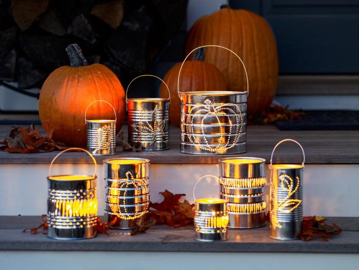 Такие фонарики – хорошая идея для дачи. /Фото: cdn.vox-cdn.com