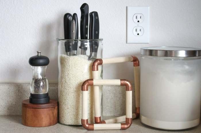 Подставка с рисом смотрится декоративным элементом. /Фото: cdn.instructables.com
