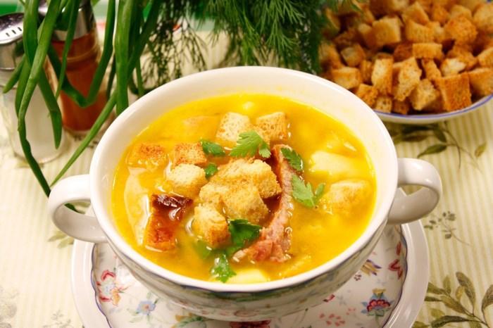 Секрет идеального супа - в выборе правильного сорта картофеля. /Фото: pronto-costo.info