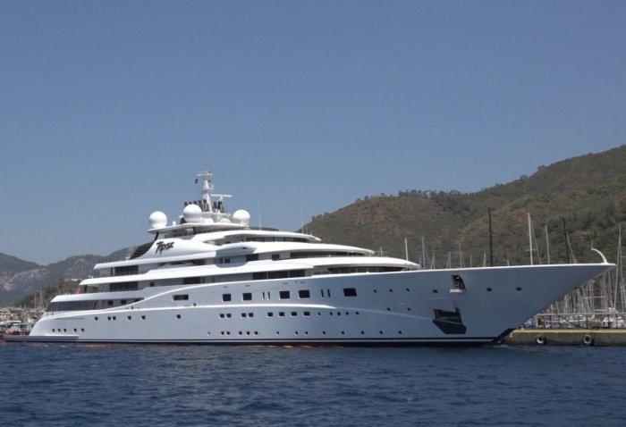 Яхта Topaz – яркий символ роскошной жизни. /Фото: luxurychartergroup.com