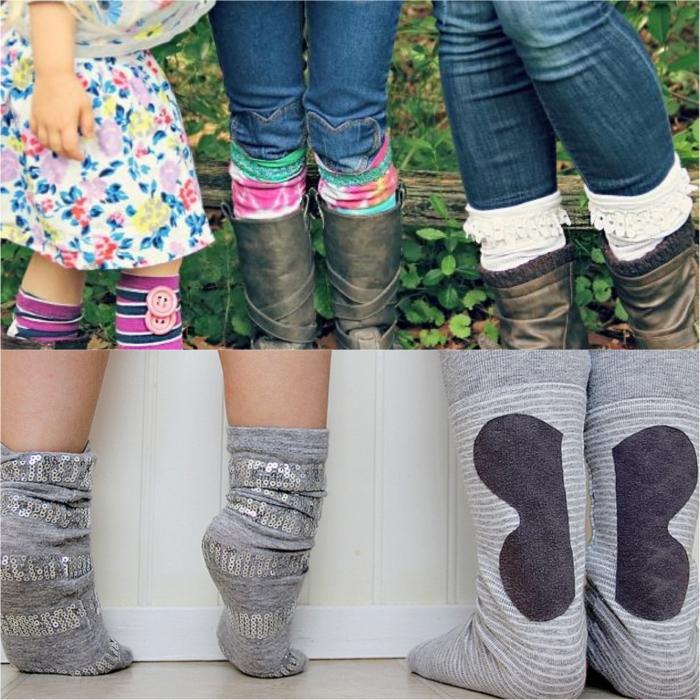 Необычные носки, которые долго носятся и хорошо согревают.