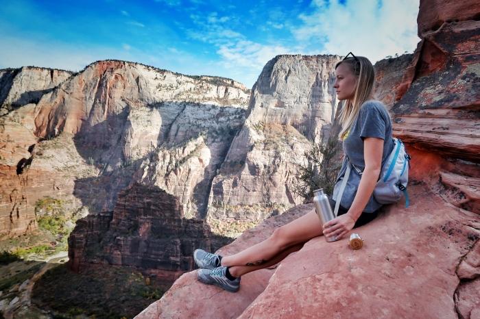 С вершины Angels Landing открываются красивые виды. /Фото: i2.wp.com
